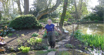 Samantha Jane proud of restoring and updating of a Water Garden
