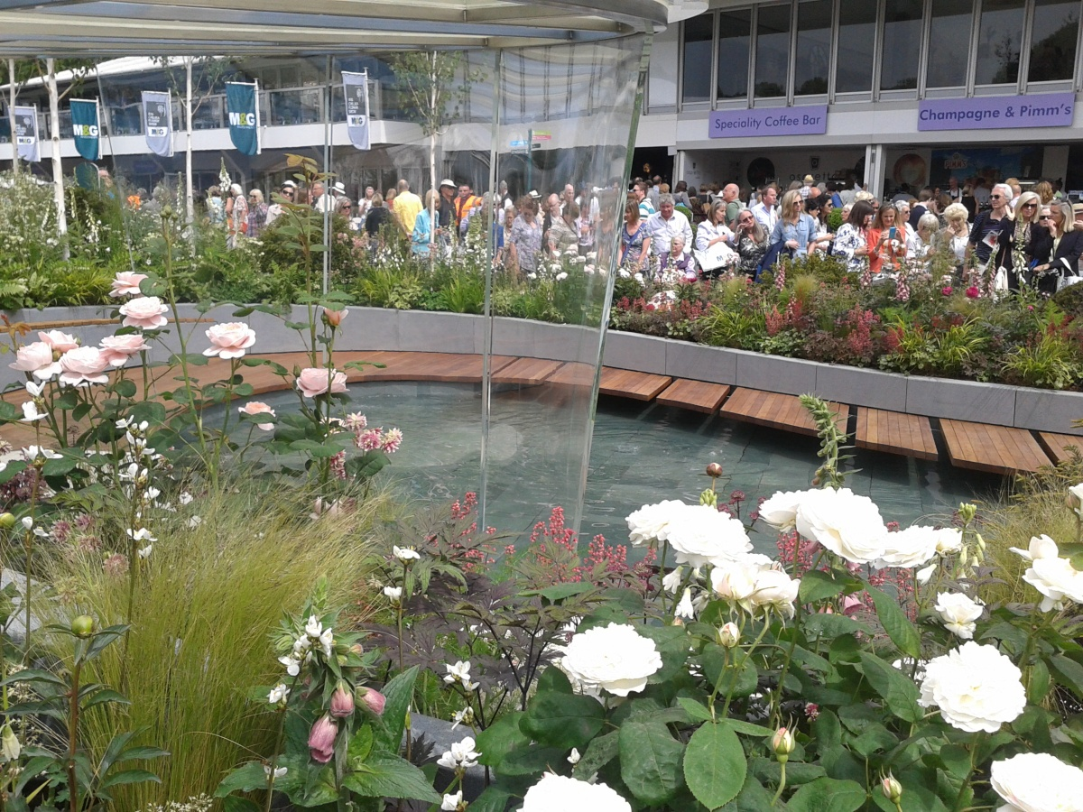The Positively Stoke On Trent Garden at Chelsea Flower Show 2014