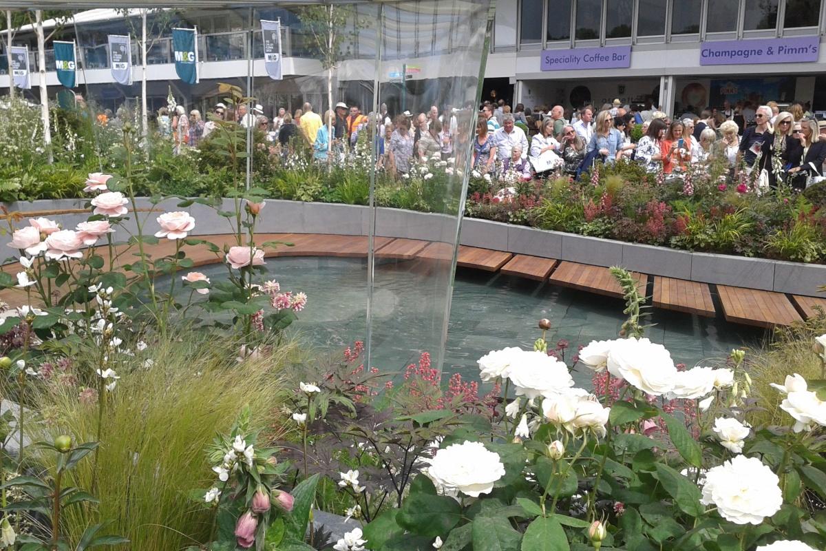 The Positively Stoke On Trent Garden at Chelsea Flower Show 2014